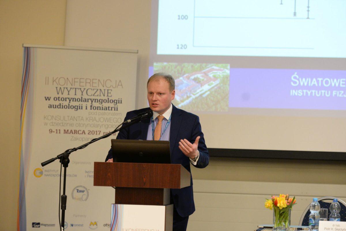 dr hab Piotr H Skarżyński 1