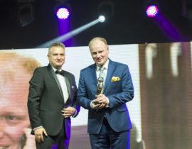 Drhab. n. med. mgrzarz. Piotr H. Skarżyński wyróżniony nagrodą VIP wOchronie Zdrowia, GALA VIP 2017